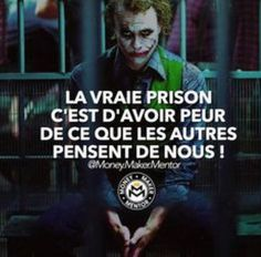 Franch Quotes : - The Love Quotes Joker Quotes, Me Quotes, Motivational Quotes, People Quotes, Positive Attitude, Positive Quotes, Citations Jokers, Der Joker, Manga Quotes