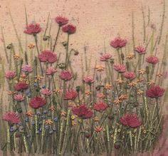 Jo Butcher, Embroidery Artist - Poppy Field