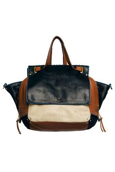 Jérôme Dreyfuss- a color block update to the bag i already carry, yes please!