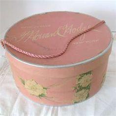 Vintage G. Howard Hodge Hat Box   Fifth Avenue, New York
