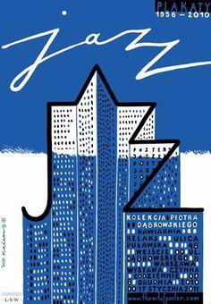Jazz Posters 1956 - 2010, Kalarus Roman, Polish Poster.