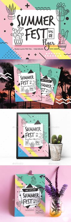 Summer Fest Flyer - Events Flyers