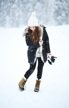 27 Cute Winter Outfits to Wear in the Snow | StyleCaster