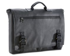 CHARCOAL GREY LEATHER : BRIEFCASE 2.0