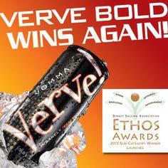 Verve Bold wins again! http://VerveTruckers.com