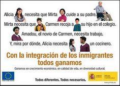 La juventud europea y la inmigración: el caso español | RED SAFE WORLD