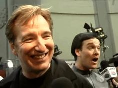 "Alan Rickman -- I think this might be from when he was in ""Private Lives,"" so that would make it 2001-ish"