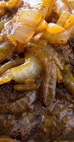 Cubed Steak with Onion Gravy Skirt Steak Recipes, Steak Marinade Recipes, Easy Steak Recipes, Grilled Steak Recipes, Healthy Diet Recipes, Meat Recipes, Cooking Recipes, Minute Steak Recipes, Beef Cube Steak Recipes