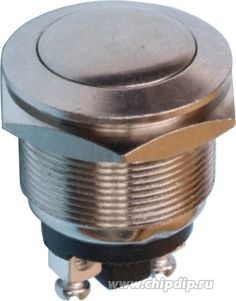 PBS28B, Кнопка антивандальная OFF-(ON) (2A 250VAC) | купить оптом и в розницу