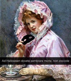 Giovane donna con la maschera - Raimundo de Madrazo y Garreta (1890) #seiquadripotesseroparlare #stefanoguerrera ___________________ Se i quadri potessero parlare è diventato un libro! Si chiama (ovviamente) MAI 'NA GIOIA e lo trovate in tutte le librerie compreso Amazon e IBS. by stefanoguerrera