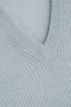 Brunello Cucinelli - Knitted Sweater - Blue - x small