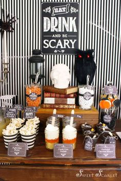 Little Big Company | The Blog: Eat, Drink and Be Scary, a Spooktacular Halloween Themed Party by Sweet Scarlet Designs