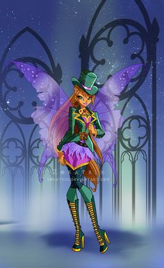 Winx Club Gothic fashion