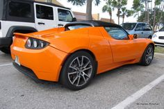 Tesla Electric Car Spotted In...