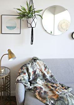 We all want to live somewhere that we are proud of and that we feel comfortable in. Living in a rental can sometimes feel frustrating. You can't do everything that you could do if you owned the space. Some landlords won't even let you paint. I have a few tips and tricks to quickly make that rental space feel like a real home and less of a temporary home.