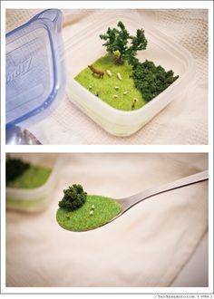 LunchTimeDiorama03 / お昼時のジオラマ03