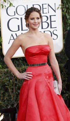 Jennifer Lawrence (winner) in Dior