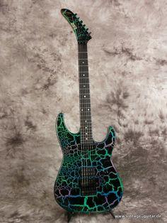 Guitar Solo, Music Guitar, Cool Guitar, Esp Guitars, Fender Guitars, Electric Guitar And Amp, Electric Guitars, George Lynch, Heavy Metal Guitar