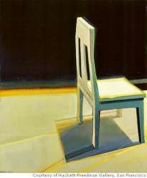 Anxiety invades calm of Staprans' still lifes, abstract work