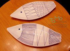 대전 토모공방에 신제품. 도자기 접시, 물고기 모양의 생선접시,  네이버 검색창에 대전 토모공방을 찾아보세요ㅎ