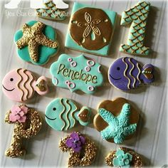 mermaids cookies from you can call me sweetie - Google Search