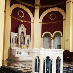 "Tabernacle and Baptistry of Saint Catherine of Siena Catholic Church, Wake Forest, NC  ""Then they that gladly received his word were baptized"" (Acts 2:41a)"