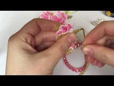 İğne oyası Needlework, Gold Rings, Rose Gold, Youtube, Flowers, Jewelry, Beading, Lace, Needle Lace