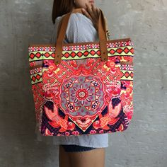 Your place to buy and sell all things handmade Summer Tote Bags, Beach Tote Bags, Canvas Tote Bags, Yoga Mat Bag, Bohemian Bag, Boho, Large Tote, Hobo Bag, Travel Bag