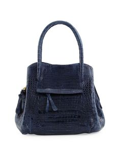 Nancy Gonzalez - Dual-Compartment Tote Bag, Navy