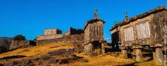Castillo y espigueiros de Lindoso, Portugal