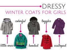 The best winter coats for girls - Savvy Sassy Moms