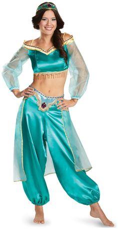 PartyBell.com - Disney Princess Jasmine Fab Prestige #TeenCostume