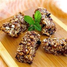 My recipe got submitted!!! check it out!!!  Peanut Butter Granola Bars Allrecipes.com