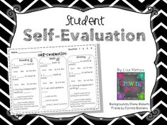 125 best Student Self Evaluation images on Pinterest