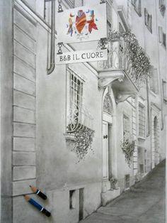 B&B il Cuore, Via Giardini 13, Massa (MS) - Toscana, Italia ❤️ Toscana Italia, B & B