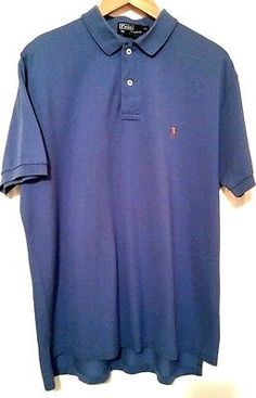 Ralph Lauren Men's Casual Polo Shirt Size XL Rare Multi Color Pony