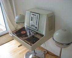 Rosita Stereo Commander Luxus and Grundig Audiorama 8000 HiFi Speakers, ca. 1975