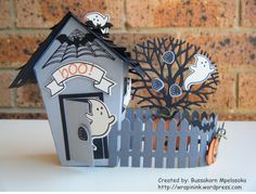 Bussakorn Mpelasoka: Stampin' Up! Demonstrator in Canberra I am so excited to share this fun 3D project I made from Stampin' Up! Sweet Home bundle. Since it is not far from Halloween, I decided to …