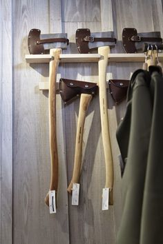 www.pinterest.com/1895gunner/ | Axe display