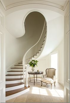 The prettiest staircase, um, ever.