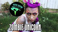 Zombie Unicorn -- A Halloween Get Ready with Me: Katie Satow