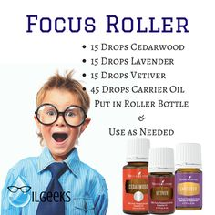 Young Living Essential Oils Focus Roller Ball Kids www.theoilgeeks.com