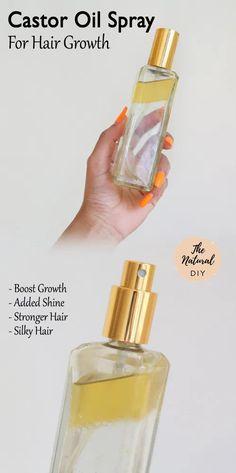 CASTOR OIL FOR HAIR GROWTH - The Natural DIY