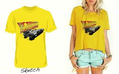 G-Shirt Bla Bla Car to the Future female
