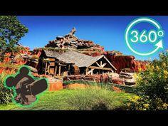 15 atracciones de los parques Disney para divertirte desde casa con realidad virtual Splash Mountain, Magic Kingdom, Virtual Reality, Walt Disney World, Park, Travel, Youtube, Disney Parks, Entertainment