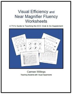 Visual Efficiency & Magnifier Fluency Grab & Go ECC Supplements - Austen Breadon Have Fun Teaching, Teaching Social Skills, Student Teaching, Teaching Reading, Sequencing Worksheets, 3rd Grade Math Worksheets, Thematic Analysis, Education Jobs, Special Education