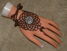 Brown Filagree Barefoot Sandals or Ring by gilmoreproducts33, $13.00