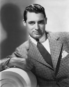 "Cary Grant You know what they say about guys with big lapels: one, they are ""out of touch with style,"" but mostly people say, ""they will ne. Cary Grant Randolph Scott, Gary Grant, Vintage Hollywood, Classic Hollywood, Becoming An American Citizen, Out Of Touch, Raining Men, Sex And Love, Hollywood Stars"