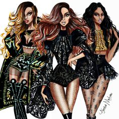 The Holy Trinity - Rihanna, Beyoncé, Nicki Minaj - by Armand Mehidri