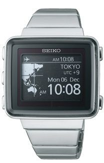 SEIKO SPIRIT SBPA003 Active Matrix EPD Solar Atomic Radio controlled Watch NEW